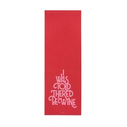 WORK IT OUT EXERCISE MAT-wine