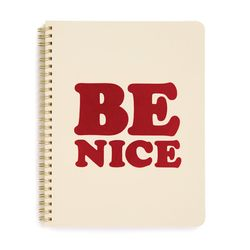 ROUGH DRAFT MINI NOTEBOOK-be nice