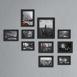 페이퍼갤러리 블랙프레임 시티 10P