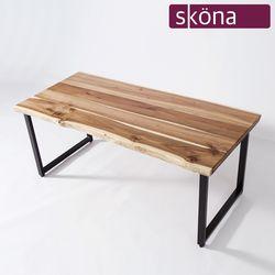 바르칸 아카시아 원목 우드슬랩 테이블 1800
