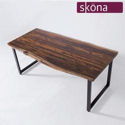 바르칸 로즈우드 호피목 우드슬랩 테이블 1800