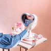 조명거울 하트미러(핑크-아이보리)
