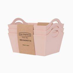 라이크잇 페이퍼 믹스 바스켓 3개 세트 S 핑크