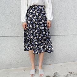 Romantic flower skirt
