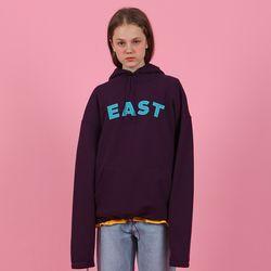 [N] East hoodie-purple