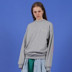 [N] elbow point sweatshirt-gray