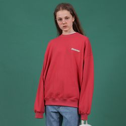 [N] elbow point sweatshirt-pink