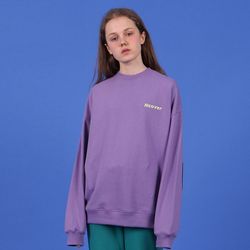 [N] elbow point sweatshirt-light purple