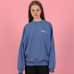 [N] Ncover signature logo sweatshirt-blue