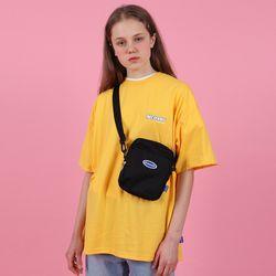 [N] Ncover signature logo tshirt-yellow