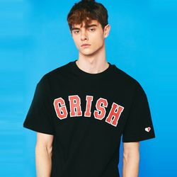 GRISH Signature t-shirts (BLACK)