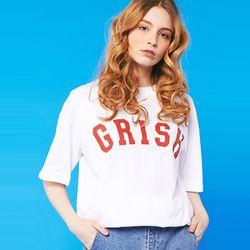 GRISH Signature t-shirts (WHITE)