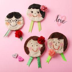 [가정의달]사랑해요브로치만들기(4개)