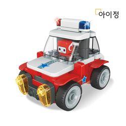 푸타오 파이블럭 8종변신 경찰차 장난감 세트