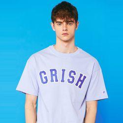 GRISH Signature t-shirts (SKY BLUE)