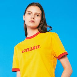 GRISH LOGO t-shirts (YELLOW)