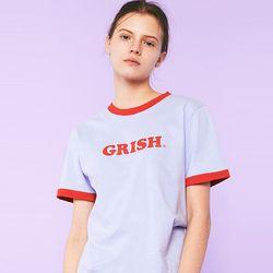 GRISH LOGO t-shirts(SKY BLUE)