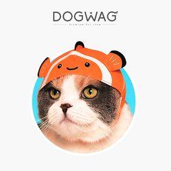 물고기 비니모자 고양이 모자 강아지 모자