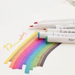 트윈타입 디자인마카 12색세트