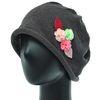 [더그레이S]DSS04.돌돌이 니트 여성 비니 엄마 모자