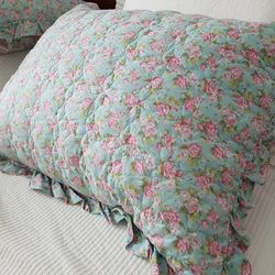 선세탁완료 쉐비플라워 간절기 베개커버 50x70cm