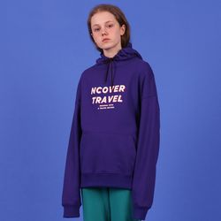 [N] Ncover travel hoodie-purple