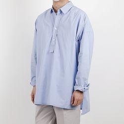Unique overfit tunic shirt shirts