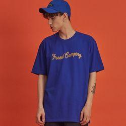 NBS014 캠핑 반팔 - 블루