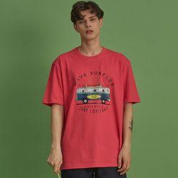 NBS018 서핑 컴퍼니 반팔 - 핑크