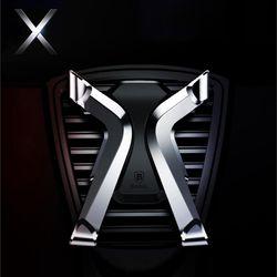 X 메탈릭 벤트카 차량용 송풍구 거치대