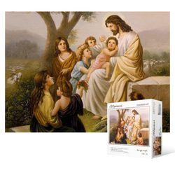 150피스 직소퍼즐  예수님과 어린이