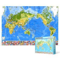 1000피스 직소퍼즐  세계 지도 (한글)
