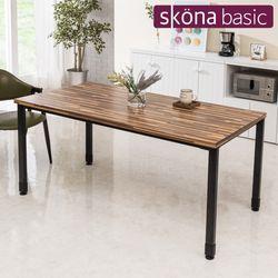 보누스 1600 철재 식탁 테이블