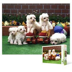 300피스 직소퍼즐  강아지들의 놀이시간