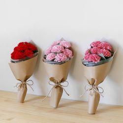 비누꽃 카네이션 7P 네츄럴 꽃다발