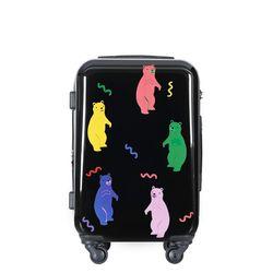 젤리곰PC 하드 여행가방 20인치 캐리어 블랙