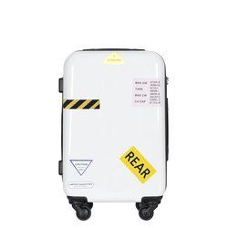 컨테이너PC 하드 여행가방 20인치 캐리어 화이트