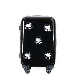 백조PC 하드 여행가방 20인치 캐리어 블랙