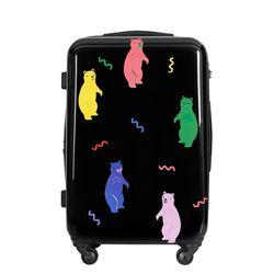 젤리곰PC 하드 여행가방 24인치 캐리어 블랙