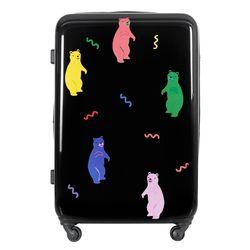 젤리곰PC 하드 여행가방 28인치 캐리어 블랙
