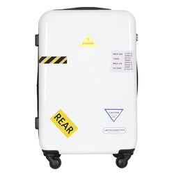 컨테이너PC 하드 여행가방 28인치 캐리어 화이트