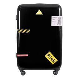 컨테이너PC 하드 여행가방 28인치 캐리어 블랙