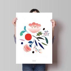 인테리어 디자인 포스터 M 보태니컬5 A3(중형)