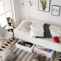 하임투인원(2in1)본넬스프링 일체형 싱글(S)침대+커버