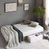 하이엔 무소음 메모리폼 싱글(S)일체형 침대