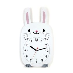무소음 아이방 벽시계 동물친구들 - 토끼