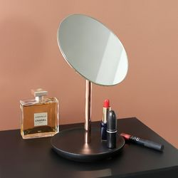 화장대 주얼리 트레이 고급스러운 로즈골드 탁상거울
