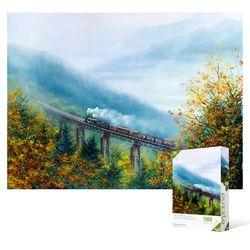 1000피스 직소퍼즐  가을 철도의 풍경