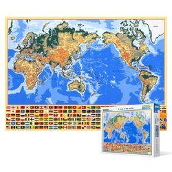 1000피스 직소퍼즐  세계 지도2 (한글)