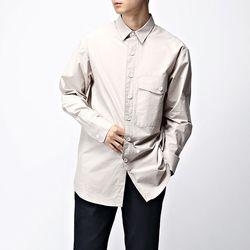 [매트블랙] 빅 포켓 오버 셔츠